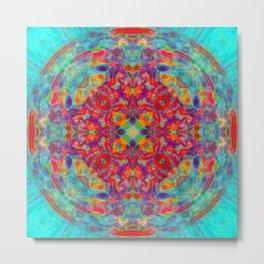 Mandala of Joy Metal Print