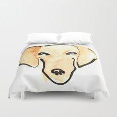 Daschshund Duvet Cover
