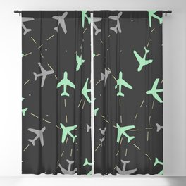 Planes Blackout Curtain