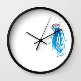 Cerulean Squishy Wall Clock