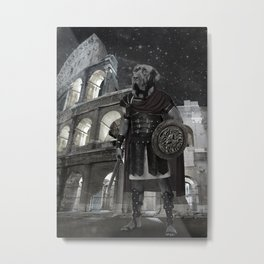 Neapolitan Mastiff Gladiator Metal Print
