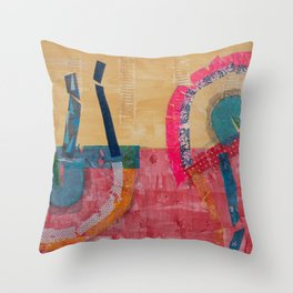 Humanitas 2 Throw Pillow