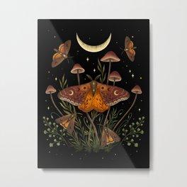 Autumn Light Underwing Metal Print