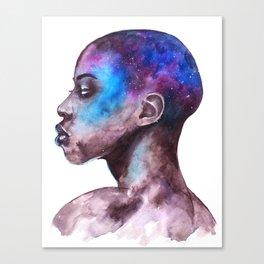 Portrait Galaxy Study #1 Canvas Print