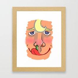 Snivel Framed Art Print