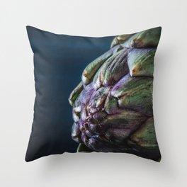 Artichoke close-up Throw Pillow