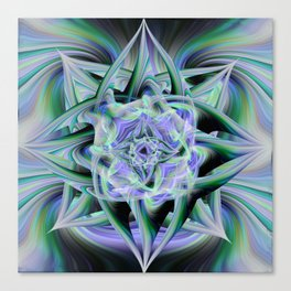 Twirled Lights Canvas Print