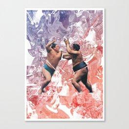 Sumos Canvas Print