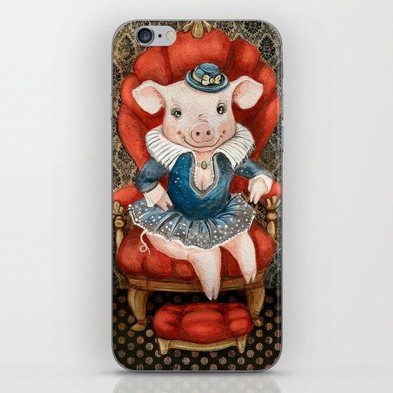Princess Piggy iPhone & iPod Skin