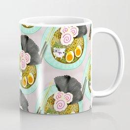Ramen Cats Pattern Coffee Mug