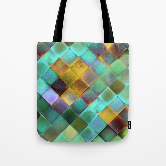 CHECKED DESIGN II-v11 Tote Bag