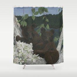 Bear Hugs Shower Curtain