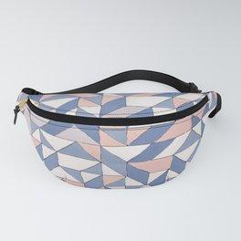 Shifting geometric pattern Fanny Pack