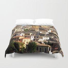 Toledo, Spain Rooftops  Duvet Cover