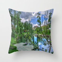 Sanat Throw Pillow