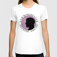 sam winchester T-shirts featuring Sam Winchester Defense Squad by Golden Irises