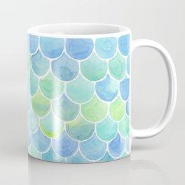 watercolor blue squama cells Coffee Mug