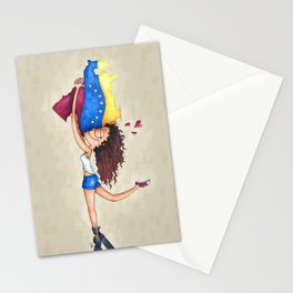 I love Venezuela Stationery Cards