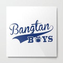 Bangtan Boys baseball Metal Print
