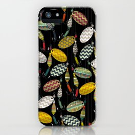 chevron spinners iPhone Case