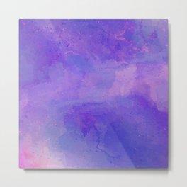 Majestic Violet Metal Print