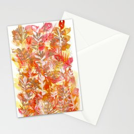 Leaves Texture 01 Stationery Cards