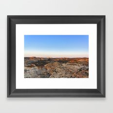 Utah Canyonland Framed Art Print