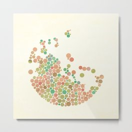 All in dots Metal Print