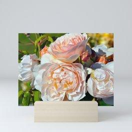 Pink roses Mini Art Print