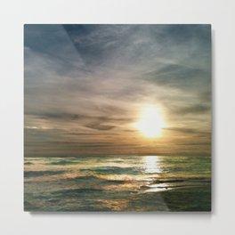 Florida Emerald Coast Sunset IV Metal Print