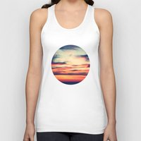 sunset Tank Tops featuring Sunset by JoanaRosaC