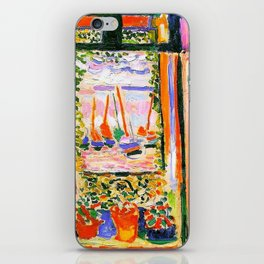 Henri Matisse Open Window iPhone Skin