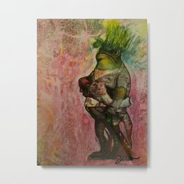 Hair of the Frog Metal Print