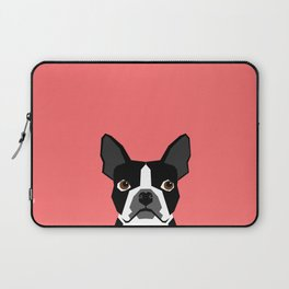 Kennedy - Boston Terrier cute dog themed gifts for small dog owners and Boston Terrier gifts  Laptop Sleeve