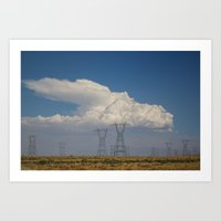giants Art Prints featuring Giants by Claire Laminen Photo