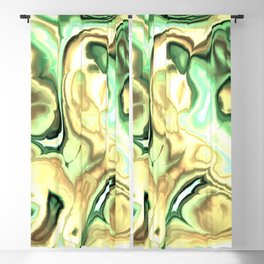 Fractal Marble 2 Blackout Curtain