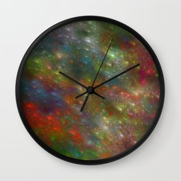 Pretty Lights Wall Clock