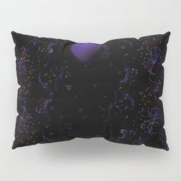 Purple Moon Pillow Sham