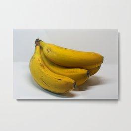 Banana Clear Metal Print