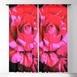 Digital Romance Blackout Curtain