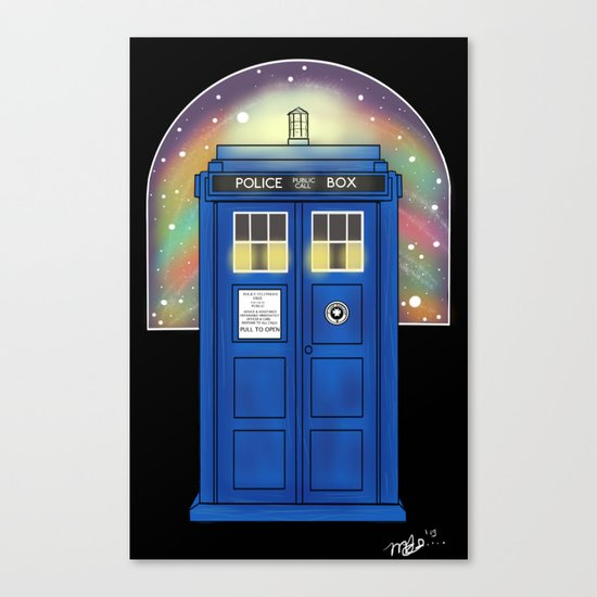 The Sexiest Ship In The Universe Canvas Print