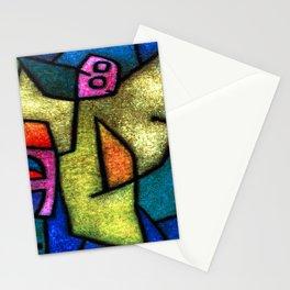 Paul Klee Angel Militant Stationery Cards