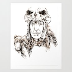 The Kurgan Art Print