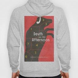 Death in the Afternoon, Erenst Hemingway, book cover, classic novel, bullfighting stories, Spain Hoody