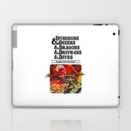 Escape from Flavortown - dungeons dragons Laptop & iPad Skin