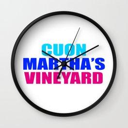 CUON MARTHAs VINEYARD Wall Clock