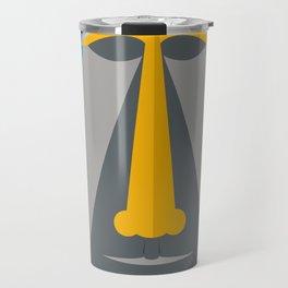 Grey Tiki Travel Mug