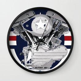 Shovel Air Wall Clock