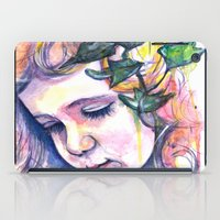 poison ivy iPad Cases featuring Poison Ivy by Lauralouisa