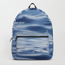 Disappearing Stars - Lake Water Painting Backpack